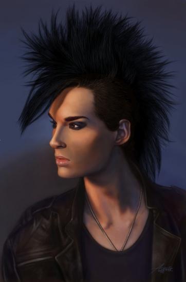 Bill Kaulitz par Aniusia483